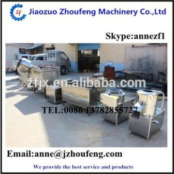 Potato chips making machine for sale Email:anne@jzhoufeng.com