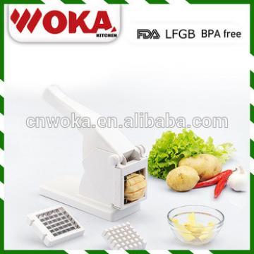 2 in 1 multi function potato cutter ,slicer, grinder mini potato chips making machine