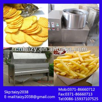 High capacity potato crisp making machine