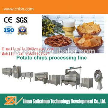 CE standard small capacity potato chips making machine