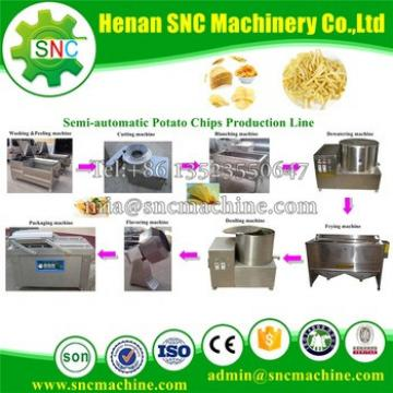 SNC French fries or Potato chips machine Hot price potato chips making machine for sale