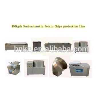 Industrial fresh potato chipsclicing machine production line/potato chips making machine price/automatic potato chips machine