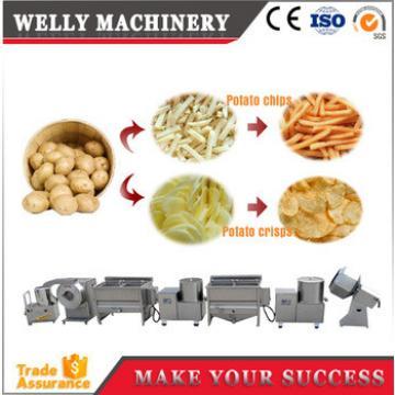 semi-automatic potato chips making machine/ small potato chips making machine