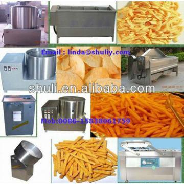 Small potato chips making machine /potato chips making machine/potato flakes production line 0086-15838061759
