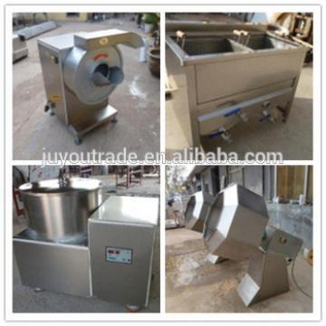 100kg/h fresh potato chips slicing machine production line / frozen French fries machinery / potato flakes maker equipment