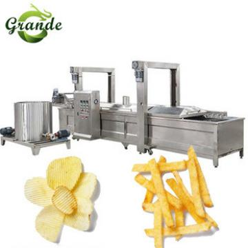 Full Automatic Potato Chips Machine/Small Potato Chips Making Machine
