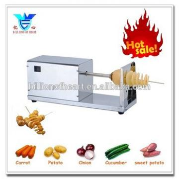 2015 new Electric twisted potato chips machine