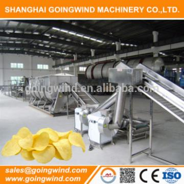 Automatic potato chips factory machines auto chips production line good price for sale