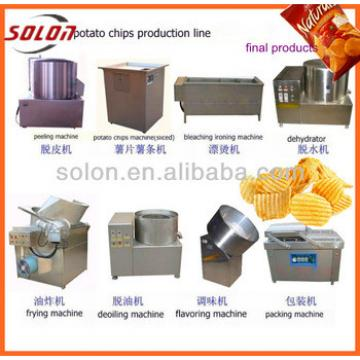 Hot selling small scale potato chips making machine /pringles potato chips machine with low price