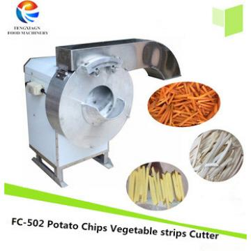 Automatic Carrot Potato Chips Cutter Making Machine French Fries Maker (FC-502)
