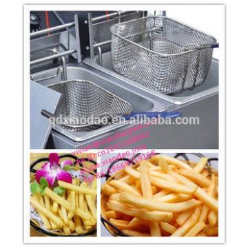 stainless steel potato chips making machine/potato chips fried machine
