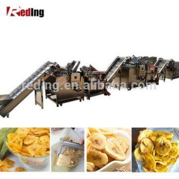 Fully Automatic Food Grade Stainless Steel industrial Plantain Chips Machine Banana Chips Making Machines