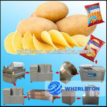 Auto potato chips making machine/french fries stainless steel potato making machine