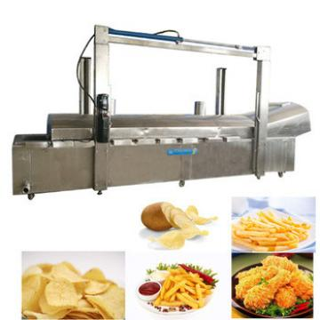 potato chips making machine and chicken frying machine