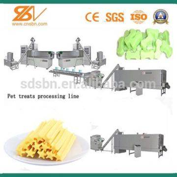 New condition CE standard pet treats making machinery