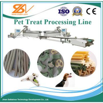 high quality, hot-sell dog/pet chewing gum making machinery