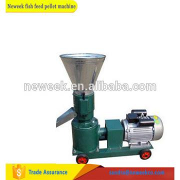 NEWEEK electrical floating fish feed pellet making animal processing machine