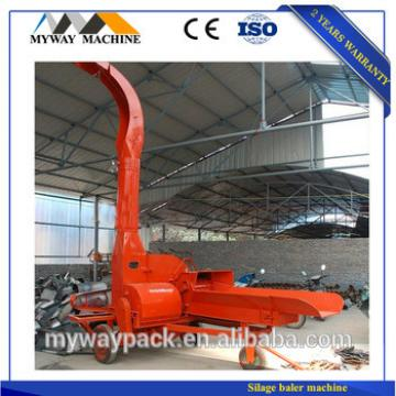 Industrial farm use animal feed hay crusher silage cutter machine