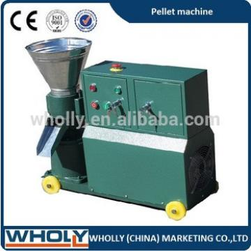 CE/ ISO/ SGS flat die farm feed machine animal feed pellet press machine for sale