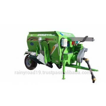 TRACTOR PTO POWERED Animal Feed Processing Machine FROM TURKEY 3m3 FEED MIXER WAGON HORIZANTAL AUGER