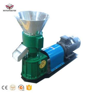 CE Flat Die Small Animal Feed Pellet Machine/Poultry Feed Pellet Maker