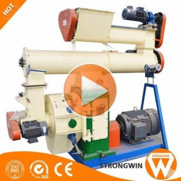 Strongwin SZLH400 8t/h animal chicken feed pellet making machine