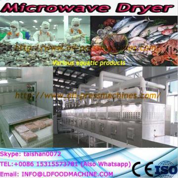 Tunnel microwave sardine dryer/microwave drying fish machine machine