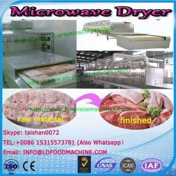 Continuous microwave salt dryer vibrating fluidized bed dryer