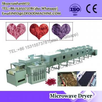 Hot microwave airflow sawdust pipe dryer