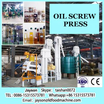 Low consumption high efficiency homade oil screw press