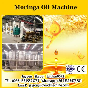 Moringa oil processing press machine for oil extraction plant