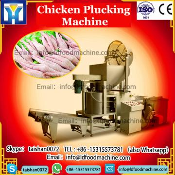 Stainless steel scalding and plucking machine for plucking chickens