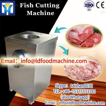 whole ss fish meat cutting machine