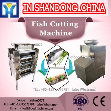 Stainless steel frozen fish cutting machine/used fish skin removeing