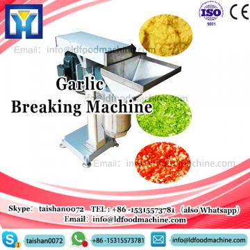 stainless steel automatic dry type garlic separating breaking and peeling machine