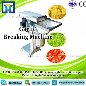 Garlic bulb clove separator breaking splitter machine