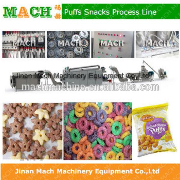 Twin Screw Puff Snack Food Breakfast Cereal Extruder #1 image