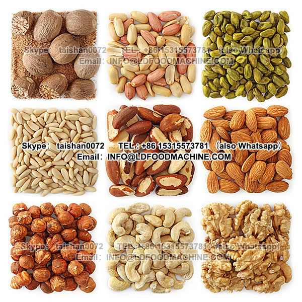 Continuous peanut nuts roasting machine for sale