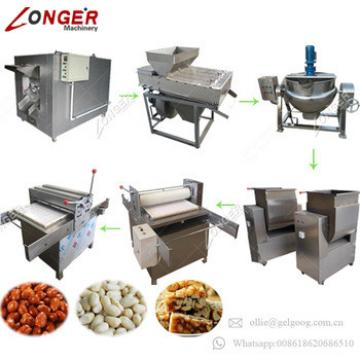 Made In China Best Price Sesame Protein Cereal Granola Bar Making Machine Peanut Candy Production Line