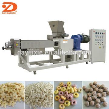 Breakfast cereals snacks food production machine