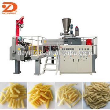Extrusion fried pellet snacks processing line food frying machine