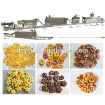 Honey Cornflake extruder machine /breakfast cereals process line/ corn flakes process line