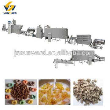 Multiple output breakfast cereal corn flakes production line