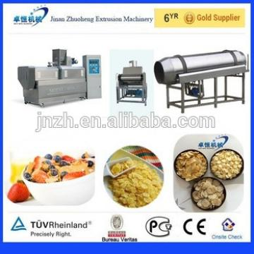 Automatic Frosted Breakfast Cereal Corn Flakes Processing Line