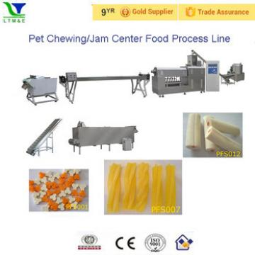 Muti-color pet chewing snack machinery