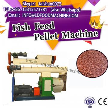 CE approved 1t ribbon mixer/flat die small fish pellet feed making machine