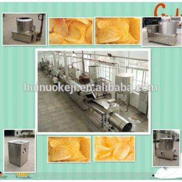Industrial fresh potato chips making machine