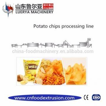 Hot sale full automatic fresh potato chips making machine