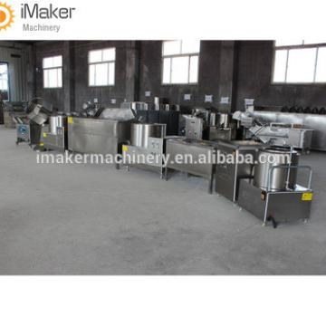 french fries making line french fries frying cutting machine