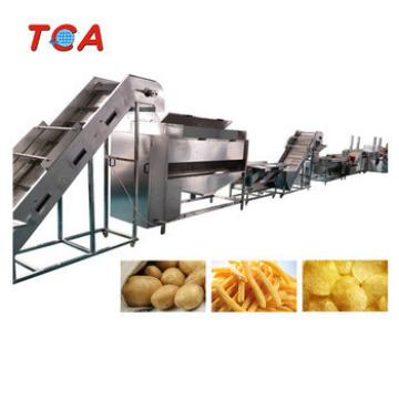Commercial potato chips cutter/industrial potato chips making machine/potato chips plant for sale